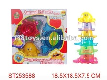 2012 brand new plastic overlap cup multi-function game set