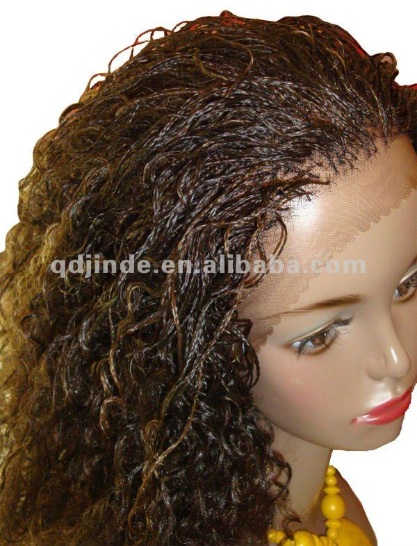 Micro Braided Lace Front Wigs