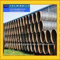 De gran diámetro de pared delgada ssaw/sierras/dsaw/lsaw/espiral soldada de bajo de acero al carbono q235 tubería para agua de mar de transmisión