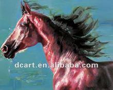 High Quality Animal Head Print Painting