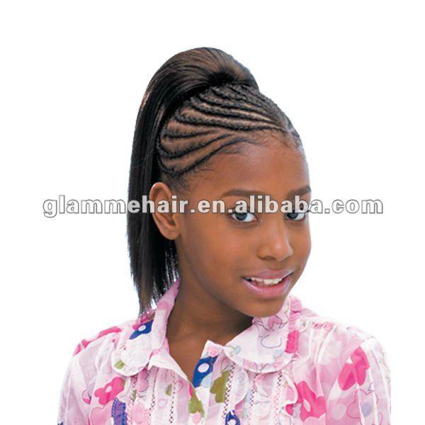 ... Children Fake Hair Extension,Clip-in Ponytail Hair Extension,Cute Kids