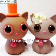 Car interior decoration accessories toy plastic cats