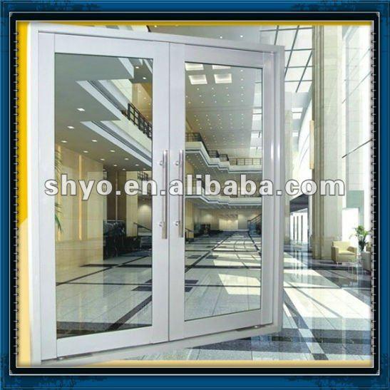 Exterior Double Glass Swing Doors 547 x 547