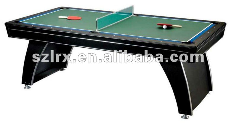 3 in 1 multi game table,tennis air hockey pool table, View 3 in 1