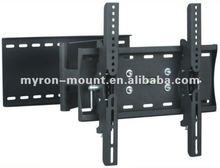 "TV/Plasma Wall Mount Bracket for 23"" - 42"" Plasma/TV with Swivel&Tilt - Black/Silver - LCD6202M"