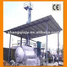 2012 hot sale waste oil refinery machine