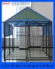 5x5x4ft Luxury Welded Dog Kennel with Waterproof Roof for Rain Season