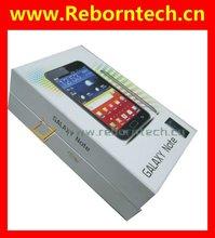"3G Wifi Dual Sim Android Phone 5"" MTK6573 Smartphone i9220 Note"