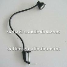 workbench led flexible pipe light&led clamp workbench light