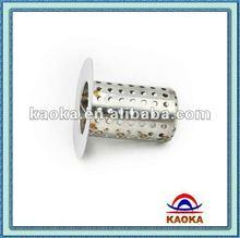 Stamping stainless steel sink drain strainer basket vertical strainer