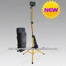 HOT SALE 2012!!! Guangzhou factory, IP65 36W LED telescopic 12v tripod led high mast light (RLS-836L)