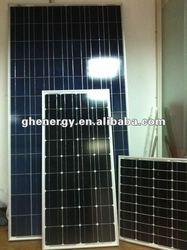 triangle 72pcs 125*125mm monocrystalline pv 100 watt solar panel (FREE SHIPING!) 0.68usd/w