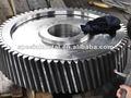 roue hélicoïdale en métal fer moulé acier moulé