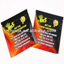 Gravure Printing Laminated Material Small Zip Lock Plastic Bags