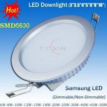 2012 Newest Design 3'' 4'' 5'' 6'' 8'' DC/AC 12V led downlight 6W-30W