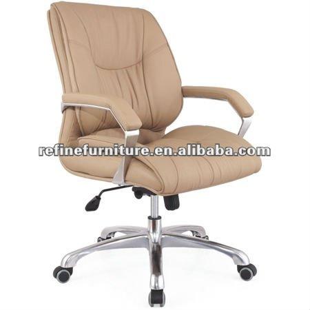 Cuero de la pu baja de la espalda silla giratoria rf s012a - Sillas para la espalda ...