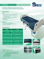 Dynamic anti-decubitus mattress with compressor medical air pad APP-T05