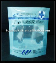Convenience bacteria remover packaging bag