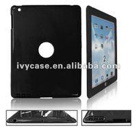 2012 nice 2-pcs snap on back PC case for apple ipad 2 case