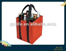 High quality promotional non woven wine bag for packing