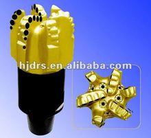 kingdream drill bits matrix body diamond rock cutting tools pdc bit 5 blades12 1/4 inch water well drilling stone