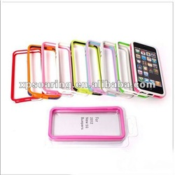 Two-tone bumper case for iphone 5