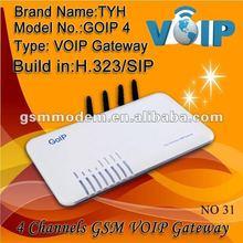 1/4/8/16 port GSM voip gateway,GOIP 4 port gsm gateway/voip service provider