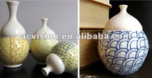 nature color artists decoration stoneware vase on sale