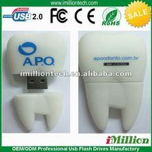 Pen personalized tooth 2gb 4gb usb disk usb flash drive usb drivers