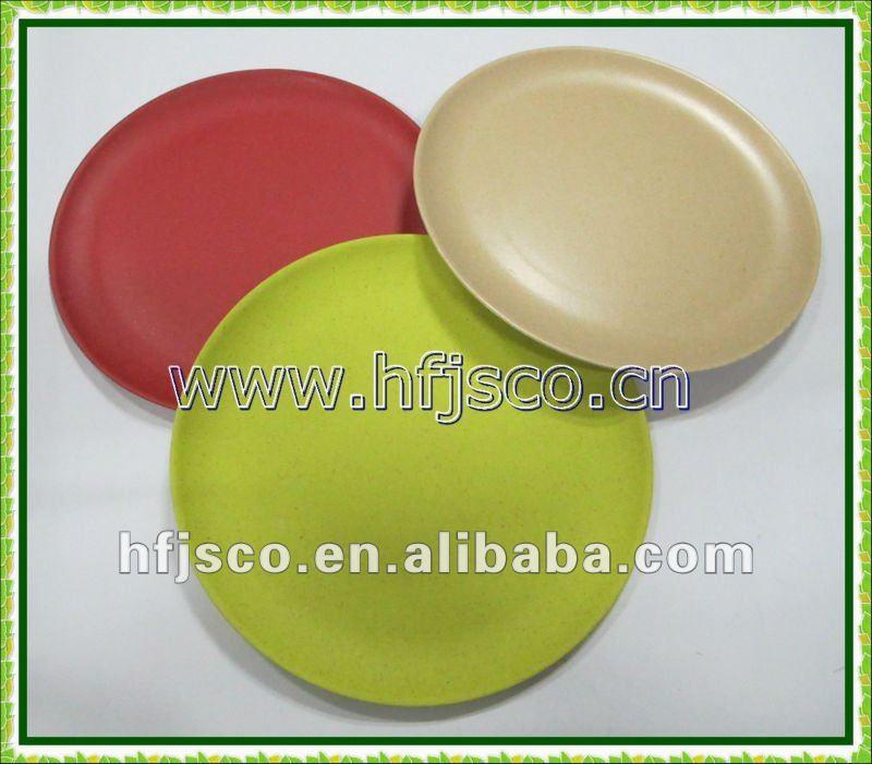 biodegradable bamboo fibre plate