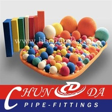 Concrete Pump Sponge rubber balls/cylinder,Medium soft or Hard