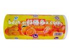 Printed and laminated BOPP/BOPP pearlized ice cream bar packaging film ,FDA certificate