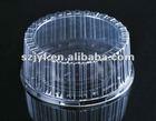 clear plastic round cake box