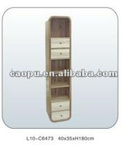 wooden CD storage