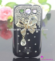 luxury crystal cover for samsung i5800 galaxy 3