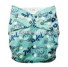 2012 ALVA moony printed cloth diapers washable