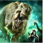 Dinosaur cartoon ghost high-technology 4d 5d 6d movie
