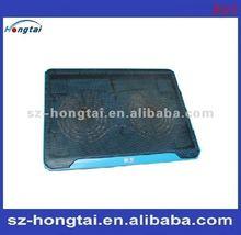2012 new arriver ,aluminum & Plastic laptop cooling pad