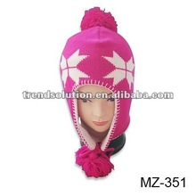 trendy funny winter hats for baby
