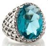 Designer Big Stone Fashion Cocktail Ring