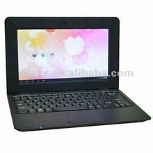10.1 inch Android 4.0 laptop computer with 512MB memory