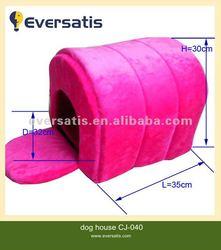 2012 new fabric soft dog house decorated dog house