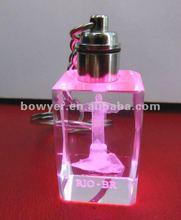 cute souvenir crystal keychain