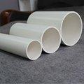 12 pulgadas de tubo de pvc