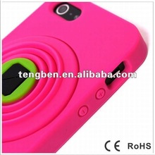 for New iPhone5 Camera silicon case(Paypal acceptable)