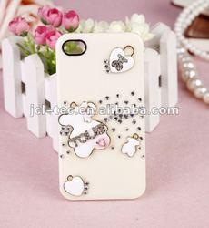 luxury Rilakkuma cover shell diamonds case for iphone 5