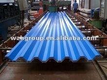 blue color corrugated steel sheet for roof