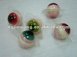 round gummy eyeball