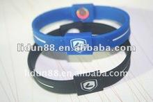 rubber power bracelet hologram frequency