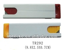 Promotional Plastic safety cutter knife for school and office